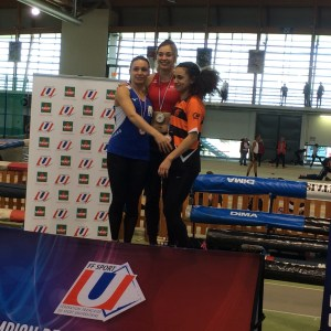 60 mètres  2ème : Sofia Khenfar(UDL – Lyon 1 STAPS)